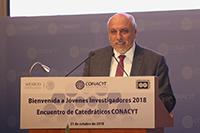 Doctor Enrique Cabrero Mendoza, director general del Consejo Nacional de Ciencia y Tecnología.