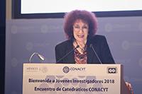 Doctora Julia Tagüeña Parga, directora adjunta de Desarrollo Científico del Conacyt.