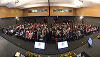Alrededor de 400 científicos pertenecientes al programa Cátedras para Jóvenes Investigadores del Conacyt se reunieron en la sede de la Academia Mexicana de Ciencias, donde se dio la bienvenida a la quinta generación, en un encuentro encabezado el doctor Enrique Cabrero Mendoza.
