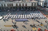 El 12 de diciembre de 2011 se inauguró la Tabla Periódica Monumental en la plaza pública de Santo Domingo, en el centro de la Ciudad de México, como parte de la celebración del Año Internacional de la Química, desde entonces ha estado en diferentes universidades, preparatorias y congresos de la Sociedad Química de México.