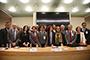 Integrantes  de la Comisión de Ciencia y Tecnología de la Cámara de Diputados, entre otros legisladores, y miembros de la comunidad científica del país participaron en la inauguración y en la primera sesión plenaria del Conversatorio para el análisis del Sistema Nacional de Ciencia, Tecnología e Innovación, celebrado en el Palacio Legislativo.