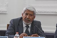 El doctor José Luis Morán López, presidente de la Academia Mexicana de Ciencias, a favor del diálogo y de la exposición de ideas.