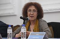 Doctora Julia Tagüeña Parga, coordinadora general del Foro Consultivo, Científico y Tecnológico.