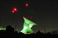El GTM, el telescopio milimétrico más grande en el mundo con el que se estudian las primeras etapas de formación y evolución de la estructura del Universo, se ubica en la Sierra Negra, Puebla.