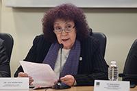Doctora Julia Tagüeña Parga, coordinadora general del Foro Consultivo Científico y Tecnológico.