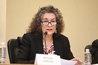 Doctora Norma Blazquez Graf, investigadora del Centro de Investigaciones Interdisciplinarias en Ciencias y Humanidades de la UNAM y coordinadora fundadora de la Red Mexicana de Ciencia, Tecnología y Género.