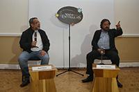 A astrónomos como los doctores José Franco y Jesús González preocupa el recorte al presupuesto del sector de CTI. Ambos participaron en la mesa redonda Noche de las Estrellas-Diez Años.