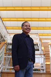 El físico Gerardo Herrera Corral, investigador del Cinvestav, miembro de la AMC, especialista en partículas elementales.