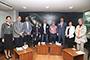 """Los especialistas Paulina Terrazas (Innovación Transformadora), Tonatiuh Ramírez (IBT-UNAM), Mathieu HautefeuiIle (FC-UNAM), Gabriela Dutrénit (UAM-Xochimilco), Alejandro Calvillo (El Poder del Consumidor), Alejandro Alagón (IBT-UNAM), Rodrigo Castañeda (Canacintra), Laura Flamand (Colmex) y Brigida Von Mentz (Ciesas), participaron en la mesa de discusión """"Impulso a la innovación con sentido social para la competitividad de los sectores social, público y privado"""", en el FCCyT."""