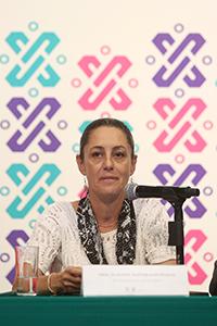 Claudia Sheinbaum Pardo, jefa de Gobierno de la Ciudad de México, presidió la firma de convenio para la conformación de la Red Eco.