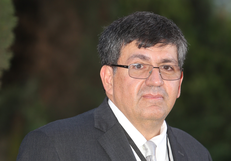 """Participantes del conversatorio """" Carlos Coello Coello, investigador adscrito al Departamento de Computación del Centro de Investigación y de Estudios Avanzados."""