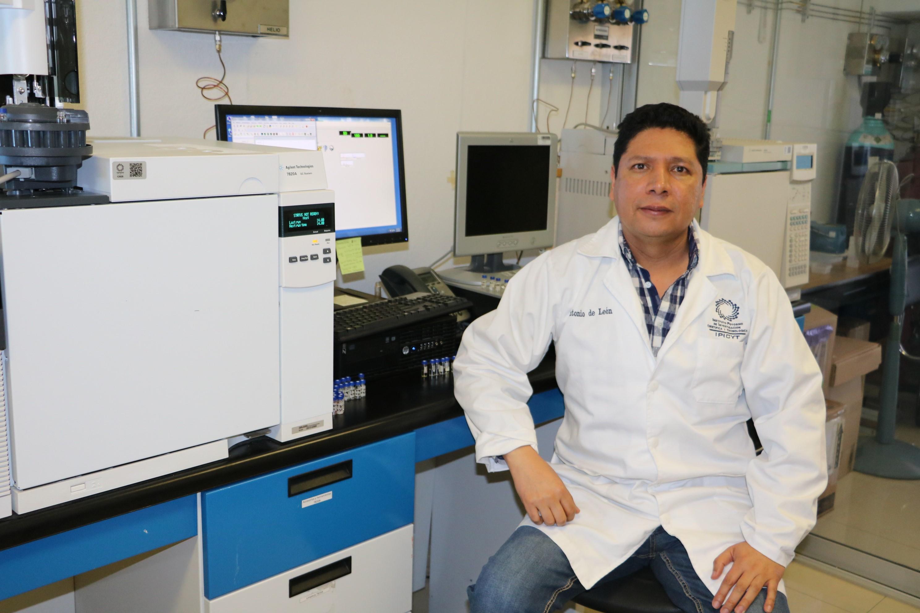 Antonio De León Rodríguez, investigador adscrito al Instituto Potosino de Investigación Científica y Tecnológica.