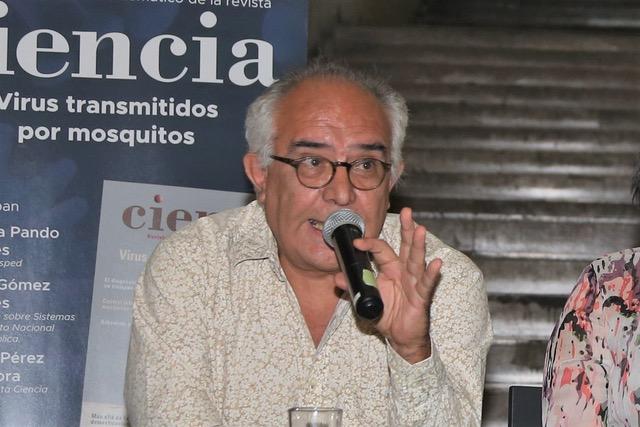 Héctor Gómez Dantes, especialista en el estudio de enfermedades arbovirales.