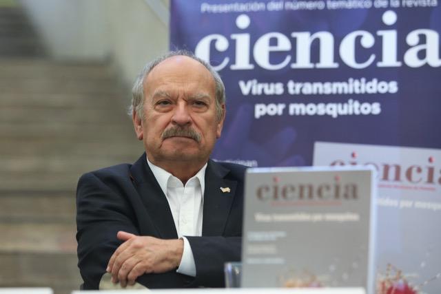 Miguel Pérez de la Mora, director de la revista Ciencia de la AMC.