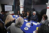 Los titulares de la Secretaría de Educación, Ciencia, Tecnología e Innovación  de la Ciudad de México y de la Academia Mexicana de Ciencias firman convenio de colaboración.