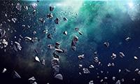 Los asteroides, con tamaños de 1 metro a 1,000 kilómetros, están compuestos de rocas y minerales.