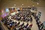 Ante el panorama de una creciente diversidad religiosa en el país, lo que se debe fomentar son valores pluralistas, apunta la doctora Ángela R. de la Torre Castellanos, del Centro de Investigaciones y Estudios Superiores en Antropología Social-Unidad Occidente y coautora de la Encuesta Nacional sobre Creencias y Prácticas Religiosas en México 2016. En la imagen, interior de un templo de la Iglesia Evangelista.