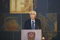 Doctor Manuel Torres Labansat, director del Instituto de Física de la UNAM.
