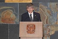 William Lee Alardín, coordinador de la Investigación Científica de la UNAM.