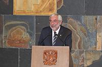 Doctor Enrique Graue WIechers, rector de la Universidad Nacional Autónoma de México.