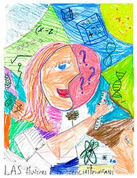 3er lugar A: Leonardo Díaz Colín, de 9 años, de la alcaldía Cuauhtémoc, Ciudad de México.
