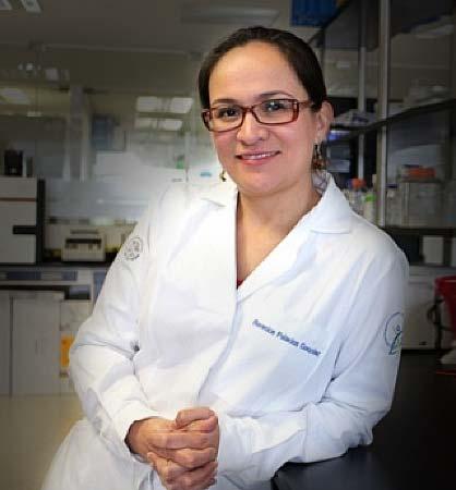 Berenice Palacios González, investigadora en el Instituto Nacional de Medicina Genómica.