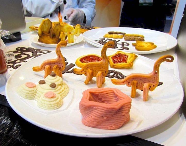 La impresión 3D de alimentos permite el diseño y fabricación de alimentos saludables basados en las necesidades individuales que dependen de la condición de salud y física de la persona o grupo de personas. Imagen: Cortesía de la Investigadora.