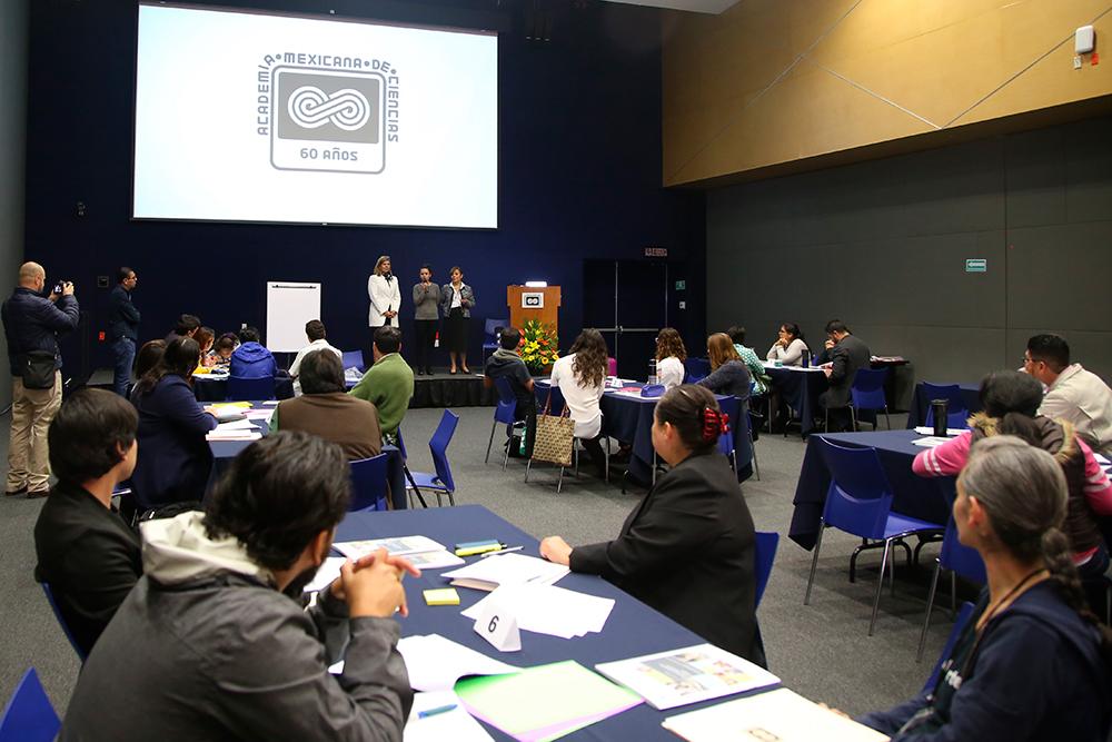 """Inicia el curso-taller de certificación denominado """"Pedagogías para el desarrollo de habilidades del siglo XXI y metodologías STEM"""", en el auditorio Galileo Galilei, de la AMC."""