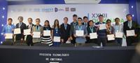 Ganadores de medallas de oro en la XXVII Olimpiada Nacional de Biología, que se llevó a cabo en Chetumal, Quintana Roo, del 21 al 25 de enero.