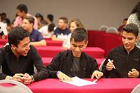 Con buen ánimo iniciaron los participantes la final nacional de la XII Olimpiada Mexicana de Historia, concurso de la Academia Mexicana de Ciencias que se lleva a cabo en San Miguel de Allende, Guanajuato.