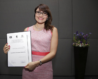 La doctora Gema Santamaría obtuvo una de las Becas para mujeres en las Humanidades y las Ciencias Sociales 2016 AMC-Conacyt-CCC.
