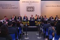 Ceremonia de Inicio del LVIII Año Académico de la Academia Mexicana de Ciencias.