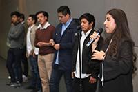 Jóvenes que cursan estudios de licenciatura en diversas universidades del país compartieron su experiencia en el VIC 2018.