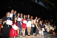 Ganadores de medalla de plata  en la XXVI Olimpiada Nacional de Biología celebrada del 22 al 26 de enero, en San Francisco de Campeche. Campeche.