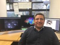Dr. Ranier Gutiérrez Mendoza, ganador en 2017 del Premio de Investigación de la Academia Mexicana de Ciencias, en el área de ciencias naturales.