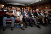 Investigadores, estudiantes, familiares y amigos fueron parte del público en la ceremonia de ingreso del doctor Carlos Frenk como miembro correspondiente de la AMC.