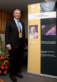 El astrofísico Carlos Frenk Mora, miembro correspondiente de la Academia Mexicana de Ciencias.