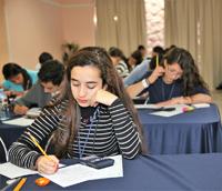 Un total de 53 mujeres y 137 hombres representantes de todas las entidades del país participan en la XXVI Olimpiada Nacional de Química.