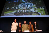 De izquierda a derecha: Carlos Bosch, Silvia Romero, Fernando Martínez,  Guillermo Apaez y Monserrat Jiménez.