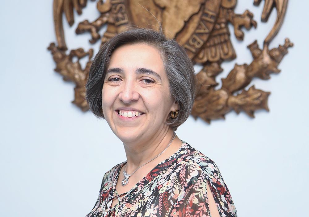 Cecilia Noguez, directora del Instituto de Física de la UNAM para el periodo 2019-2023.