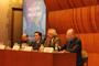 Participaron en la mesa Educación y Ciencia dentro Diálogos por la Ciencia en El Colegio Nacional Jorge Flores, Jaime Urrutia Fucugauchi, Ranulfo Romo y Eduardo Backoff Escudero.