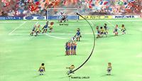 """En pasados Mundiales de Futbol y en el que se disputa actualmente en Rusia, se han podido observar tiros libres con efectos precisos. Para entender su funcionamiento es necesario conocer las magnitudes físicas que contribuyen a la realización del disparo, como son: fuerza, velocidad y frecuencia. El tiro conocido como """"chanfle"""" se logra por la combinación de dos fuerzas; una que se mantiene constante y otra que la imprime el jugador al momento de patear el balón y que es la responsable de la curva que realiza en su trayectoria."""