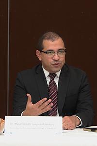 Miguel Adolfo Guajardo Mendoza, director adjunto de Planeación y Evaluación del Conacyt.