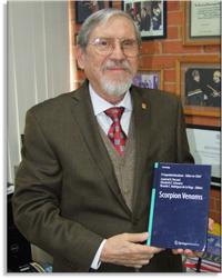 Lourival Possani, miembro de la Academia Mexicana de Ciencias, es autor del libro Scorpion Venoms, publicado en 2015 por la editorial alemana Springer.