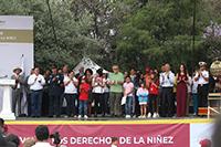 El Festival de los Derechos de la Niñez, organizado en el Complejo Cultural Los Pinos por el Sistema Nacional para el Desarrollo Integral de la Familia, en coordinación con dependencias del gobierno federal y de la Ciudad de México; la Cámara de Diputados, organismos descentralizados, instituciones académicas y asociaciones, entre ellas la Academia Mexicana de Ciencias.