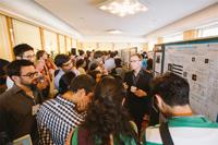 Jóvenes investigadores en la Sesión de Carteles de la 66ª Reunión Lindau de Premios Nobel.