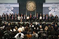 El presidente de la República Enrique Peña Nieto hizo entrega de tres Premios Nacionales 2018: de Ciencias, de Artes y Literatura y de Tecnología e Innovación en la Residencia Oficial de Los Pinos.