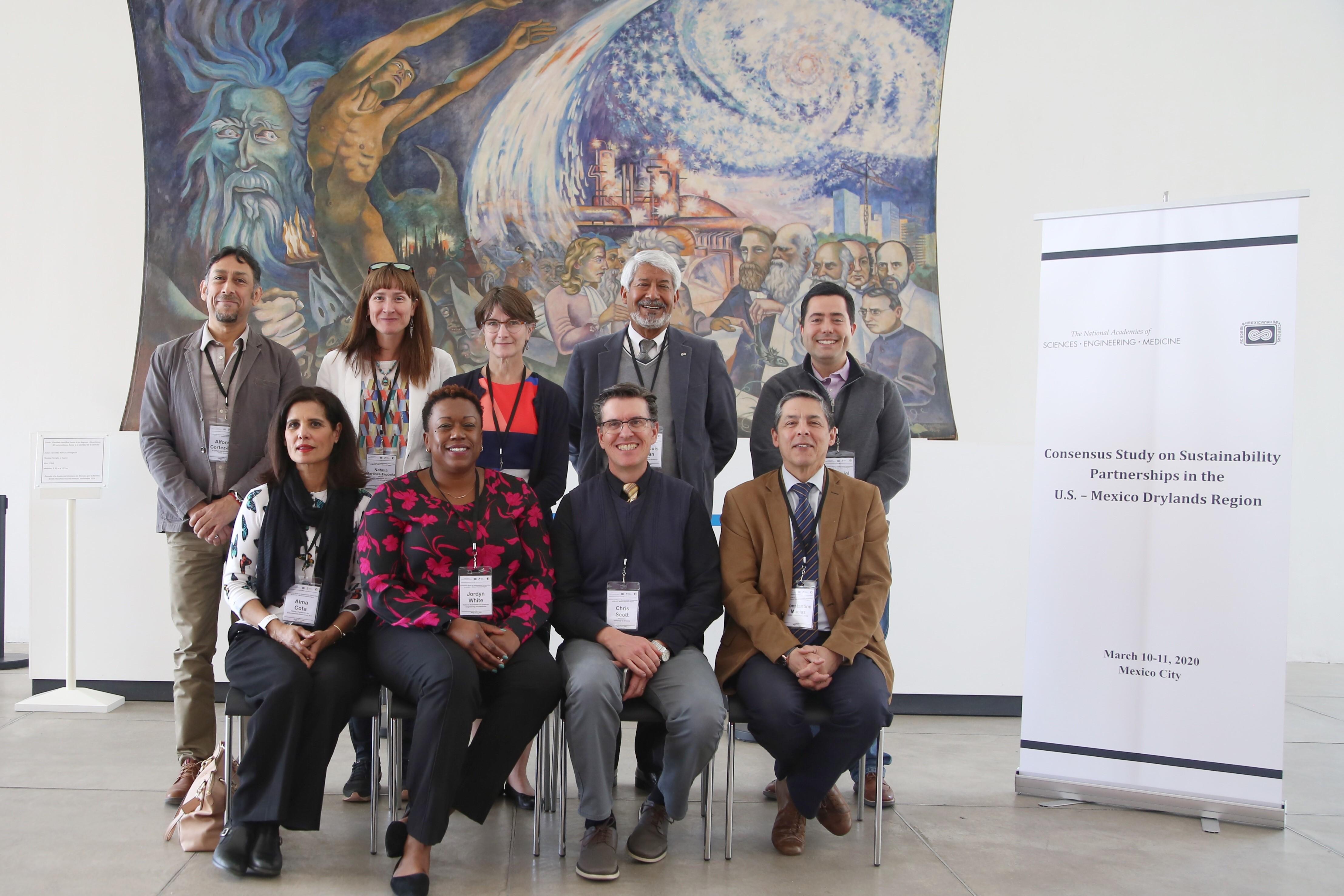El Estudio de consenso para la región árida y semiárida transfronteriza reunió durante dos días a expertos norteamericanos y mexicanos.