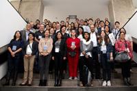 Participantes en el Taller de variabilidad, cambio climático-océanos, organizado por la Academia Mexicana de Ciencias y la Casa Universitaria Franco Mexicana, del 30 de mayo al 1 de junio..