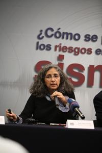 Xyoli Pérez Campos, jefa del Servicio Sismológico Nacional e investigadora del Instituto de Geofísica, UNAM.